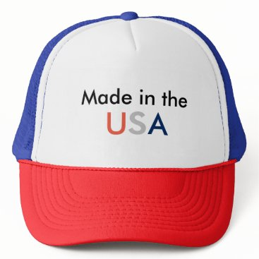 "USA Themed ""Making a Statement"" Trucker Hat"