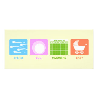 Making Baby Rack Card Template
