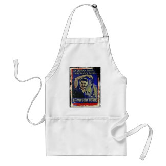 Making Bombs and Buying Bonds Adult Apron