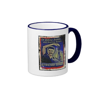 Making Bombs and Buying Bonds Coffee Mug