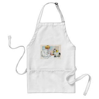 Making Friends Adult Apron