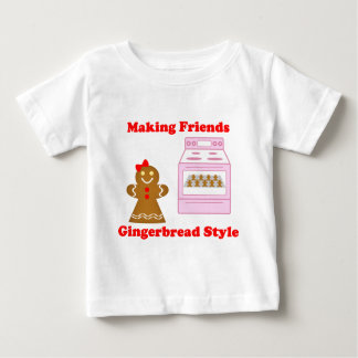 Making Friends Gingerbread Style Baby T-Shirt