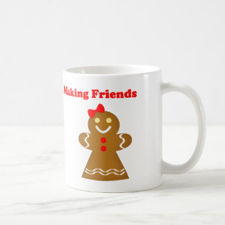 Making Friends Gingerbread Style Mug
