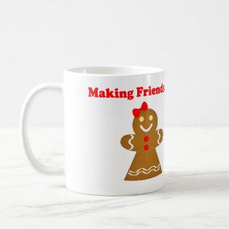 Making Friends Gingerbread Style Coffee Mugs