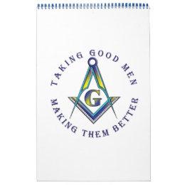 Making good men better Calendar
