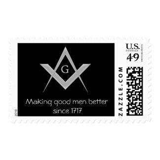Making good men better since 1717 stamps