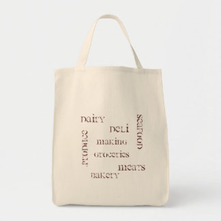 Making Groceries Grocery Bag