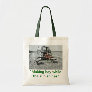 Making Hay While The Sun Shines Shopper Tote Bag