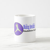 Making Invisible Disabilities Visible Mug