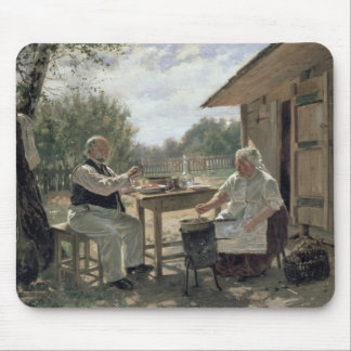 Making Jam, 1876 Mouse Pad