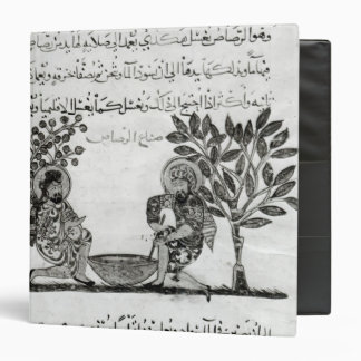 Making Lead, page from an Arabic edition 3 Ring Binder
