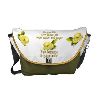 Making Lemonade Commuter Bag