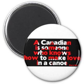 Making Love in a Canoe Magnet