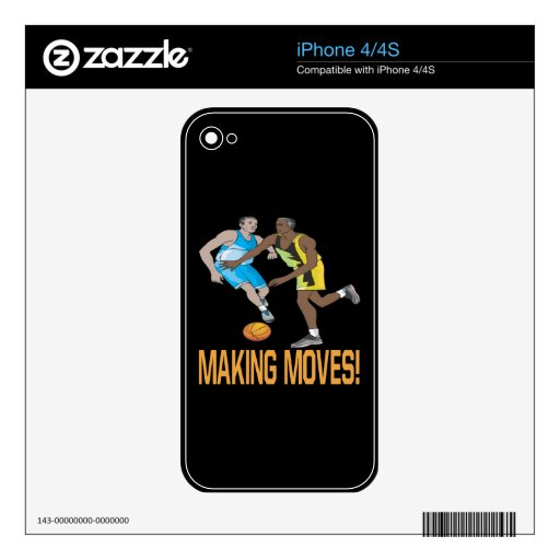 Making Moves 2 iPhone 4 Skins