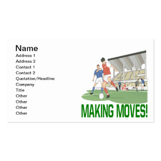 Making Moves Double-Sided Standard Business Cards (Pack Of 100)