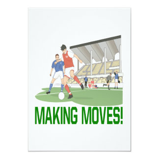 Making Moves 5x7 Paper Invitation Card