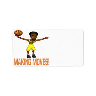 Making Moves Address Label