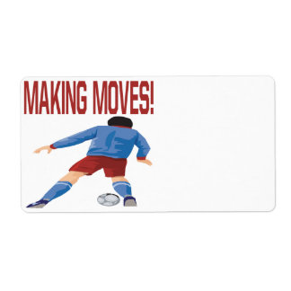 Making Moves Custom Shipping Labels