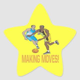 Making Moves Star Sticker