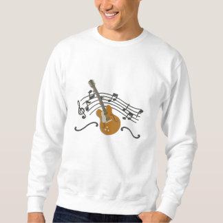 Making Music Guitar Embroidered Sweatshirt