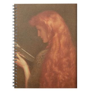 Making Music (pastel on paper) Spiral Notebook