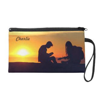 Making Music / Sunset custom name accessory bags
