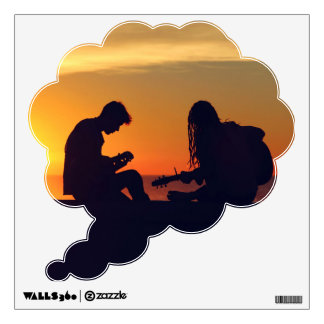 Making Music / Sunset wall decal