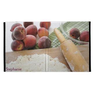 making peach pie iPad folio case