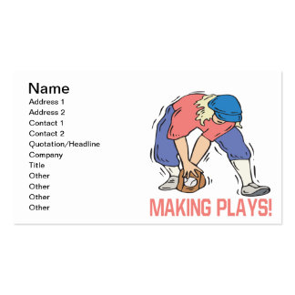 Making Plays Business Card