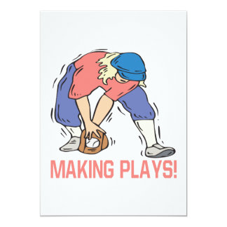 Making Plays Card