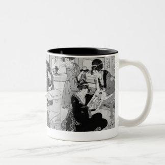 Making prints Two-Tone coffee mug