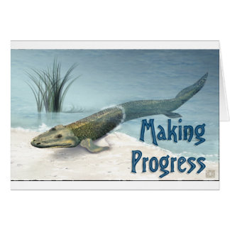 Making Progress Card