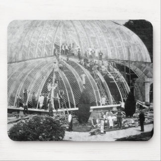 Making repairs to the Great Conservatory at Chatsw Mouse Pad