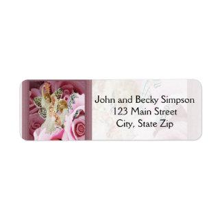 Making Rose Necklaces Custom Return Address Label