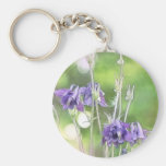 Making Seeds - Blue Columbines Keychain