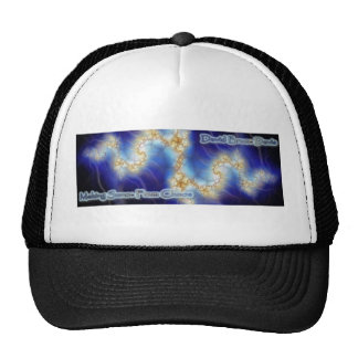 Making Sense From Chaos Fractal Trucker Hat