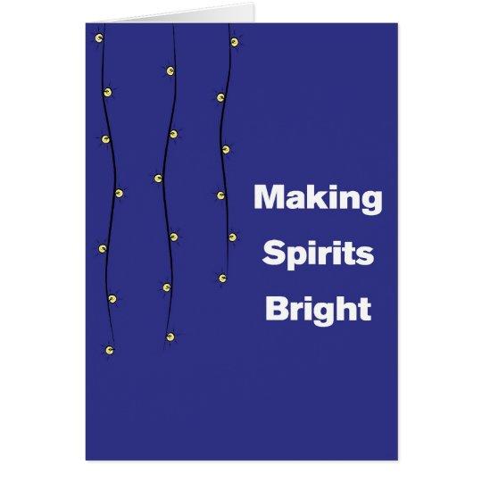 Making Spirits Bright! Card