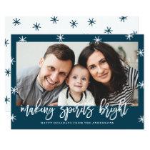 Making Spirits Bright | Holiday Photo Card