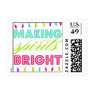 Making Spirits Bright Postage