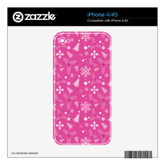 Making Spirits bright Skin For iPhone 4