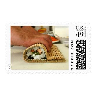Making Sushi Postage