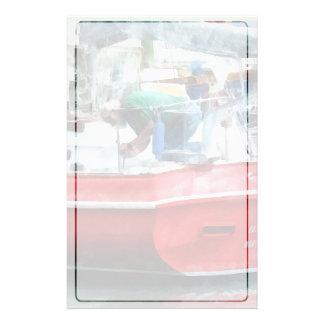 Making the Boat Shipshape Stationery