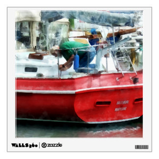 Making the Boat Shipshape Wall Sticker