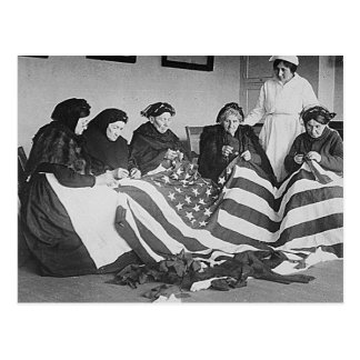 Making the Flag Postcard