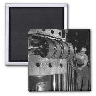 Making Tracks, 1941 2 Inch Square Magnet
