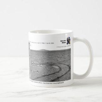 Making Tracks on Mars Coffee Mug