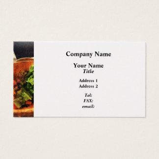 Making Waldorf Salad Business Card