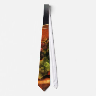 Making Waldorf Salad Neck Tie