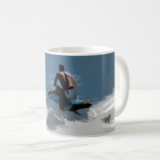 Making Waves - Jet Skier Coffee Mug