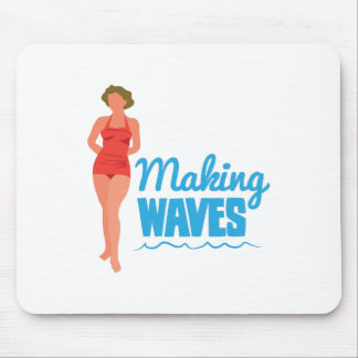 Making Waves Mouse Pad